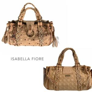 Isabella Fiore hugs & kisses Sydney LARGE tote bag
